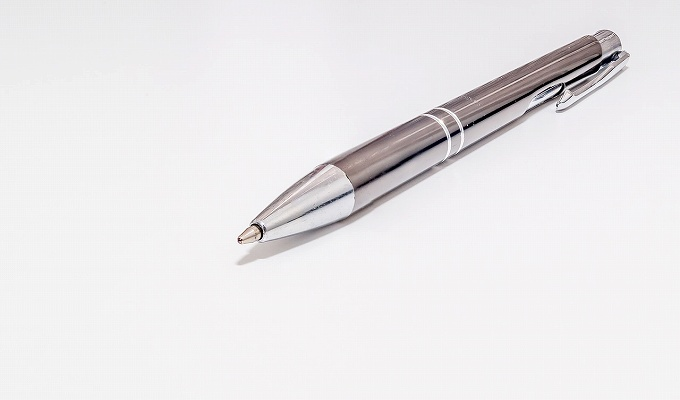 クレカ 署名 ボールペン